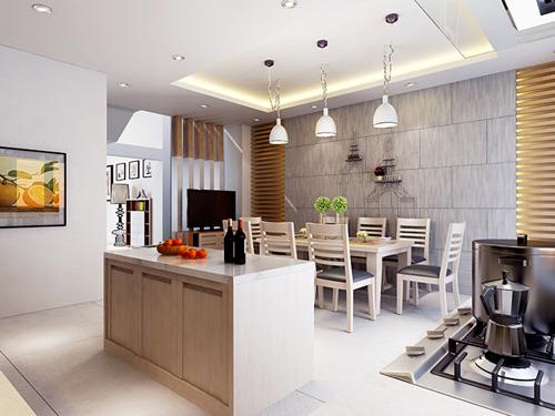 Xây dựng, thiết kế, tư vấn phòng ăn, bếp ăn đẹp và hiện đại